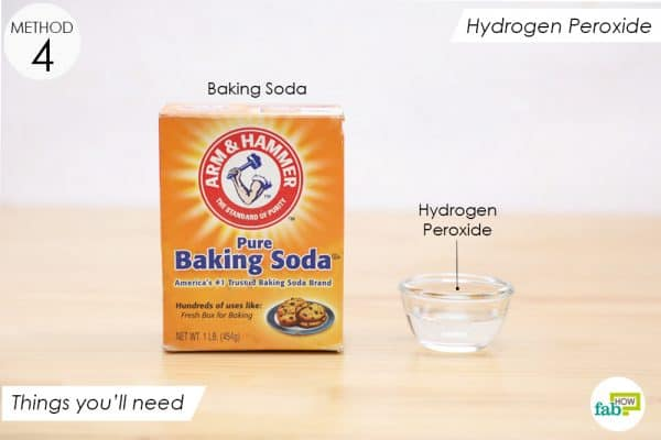 things you'll need to make hydrogen peroxide solution