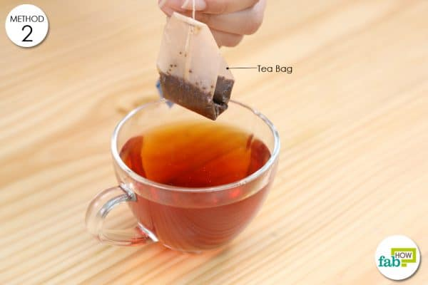 tea bag for hot spots