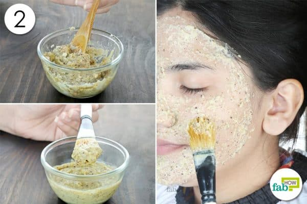 mix and apply mask