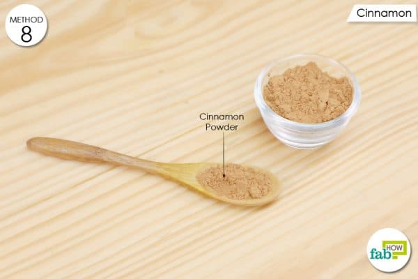 Consume cinnamon powder