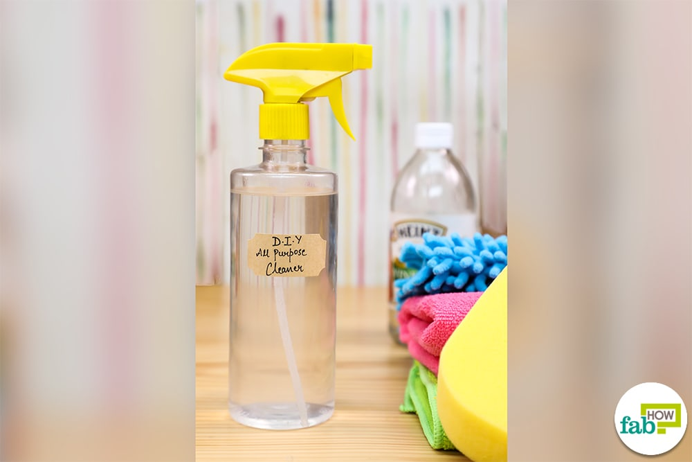 Make your home spotless with this homemade all purpose cleaner