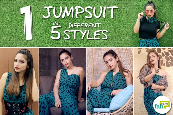 jumpsuit and different styles