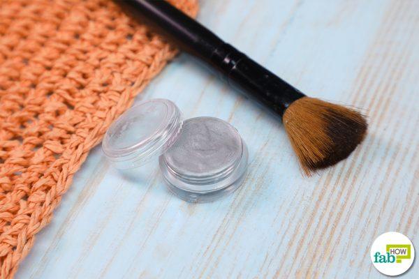 homemade face highlighter