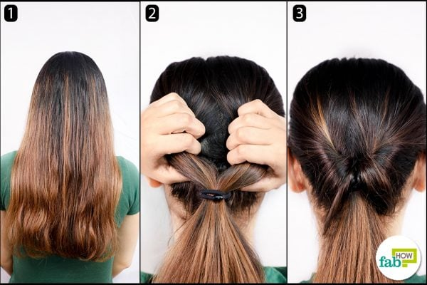 twist and turn ponytail