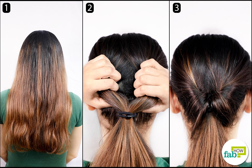 How To Tie Your Hair In 5 Different Styles For Beginners Fab How