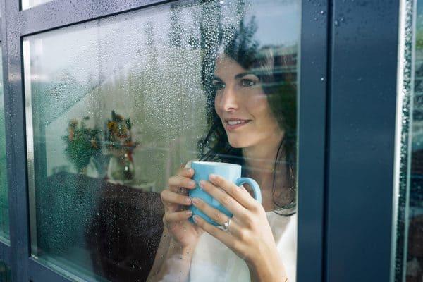 watching rain
