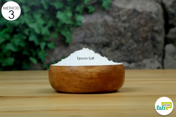 epsom salt for stiff neck