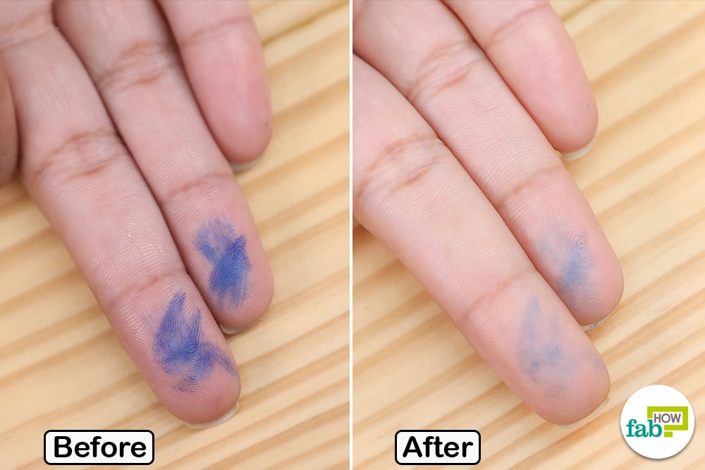 10 Simple Ways To Remove Ink Stains From Hands Fab How