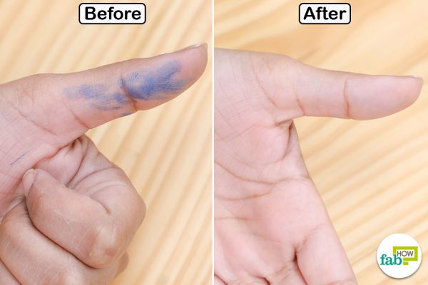 magic eraser for ink stain