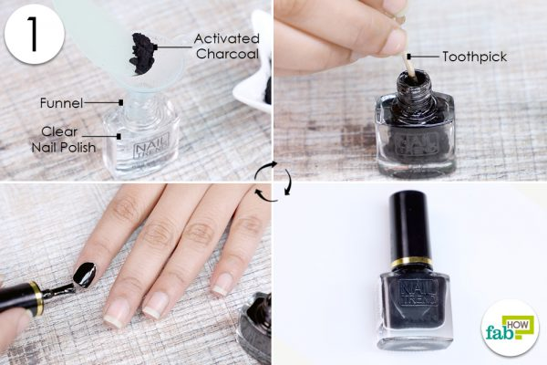mix activated charcoal