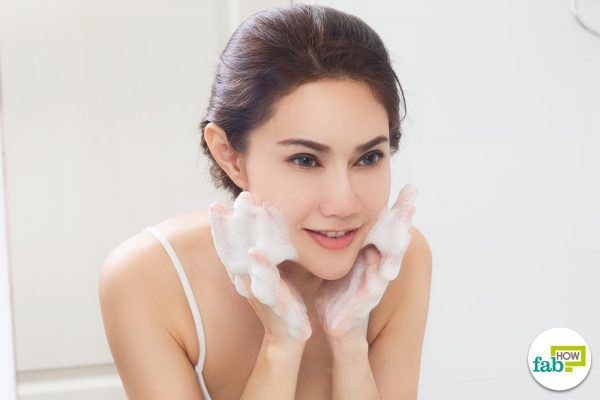 use homemade face wash