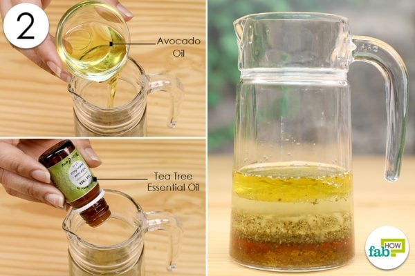 add oils to homemade face wash