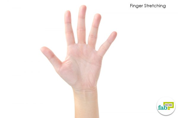 finger stretch carpal tunnel syndrome
