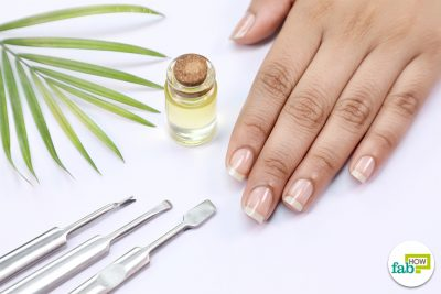 diy brittle nail serum