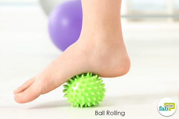 ball rolling exercise for plantar fasciitis
