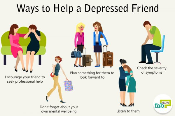 helping a depressed friend