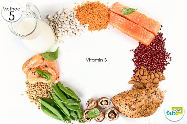 vitamin B rich food